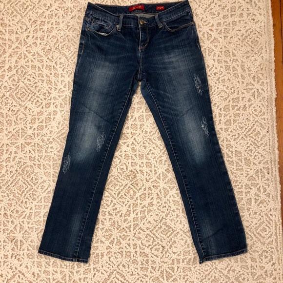 Ich mag zierliche Jeans #13